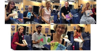 authors doing speed-dating