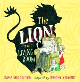 Emma Middleton book cover - Lion