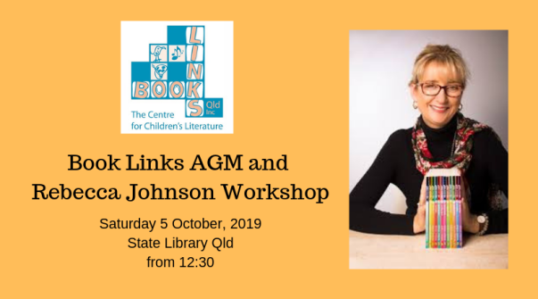 Book Links AGM and Rebecca Johnson Workshop